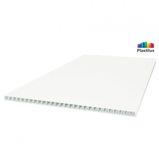 Сотовый поликарбонат POLYNEX белый-матовый 2100х6000х6мм