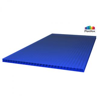 Сотовый поликарбонат ROYALPLAST синий 2100х12000х10мм