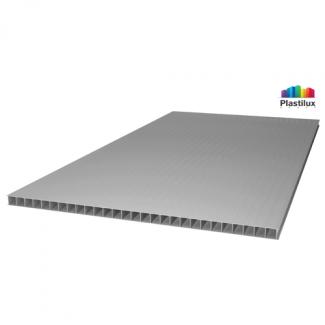 Сотовый поликарбонат ULTRAMARIN серебро 2100х6000х6мм