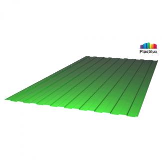 Прозрачный шифер стандарт С-8 (У) зелёный 1,15х2м
