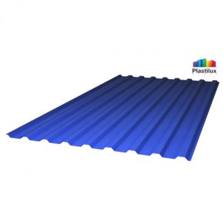 Профилированный поликарбонат SUNNEX МП-20 (У) 0,8мм синий 1,15х2м
