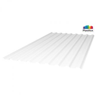 Прозрачный шифер стандарт МП-20 (У) белый-матовый 1,15х2м