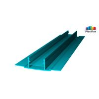 Поликарбонатный профиль ROYALPLAST HCP-D база бирюза 4-10мм 6000мм