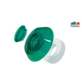 Термошайба для поликарбоната УП1000 зелёный D=40мм